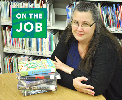 On the Job: Rebecca Cline at Belleville Public Library